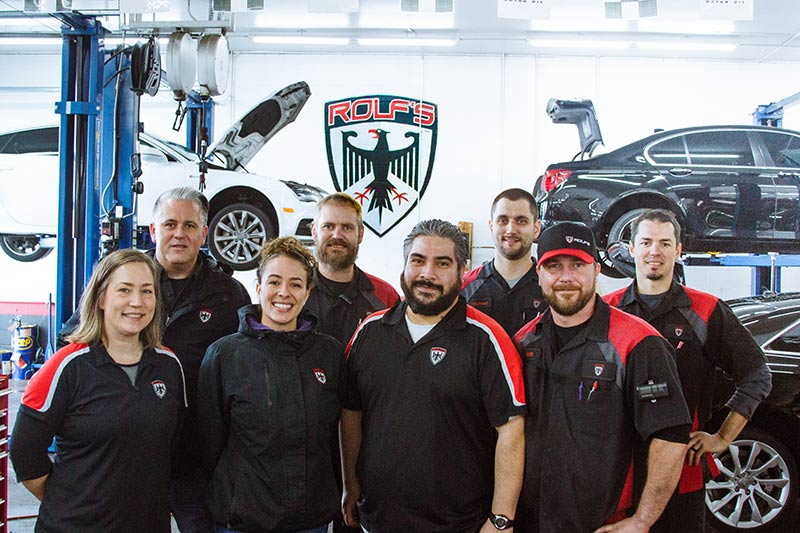 Rolf's Import Auto Lakewood team